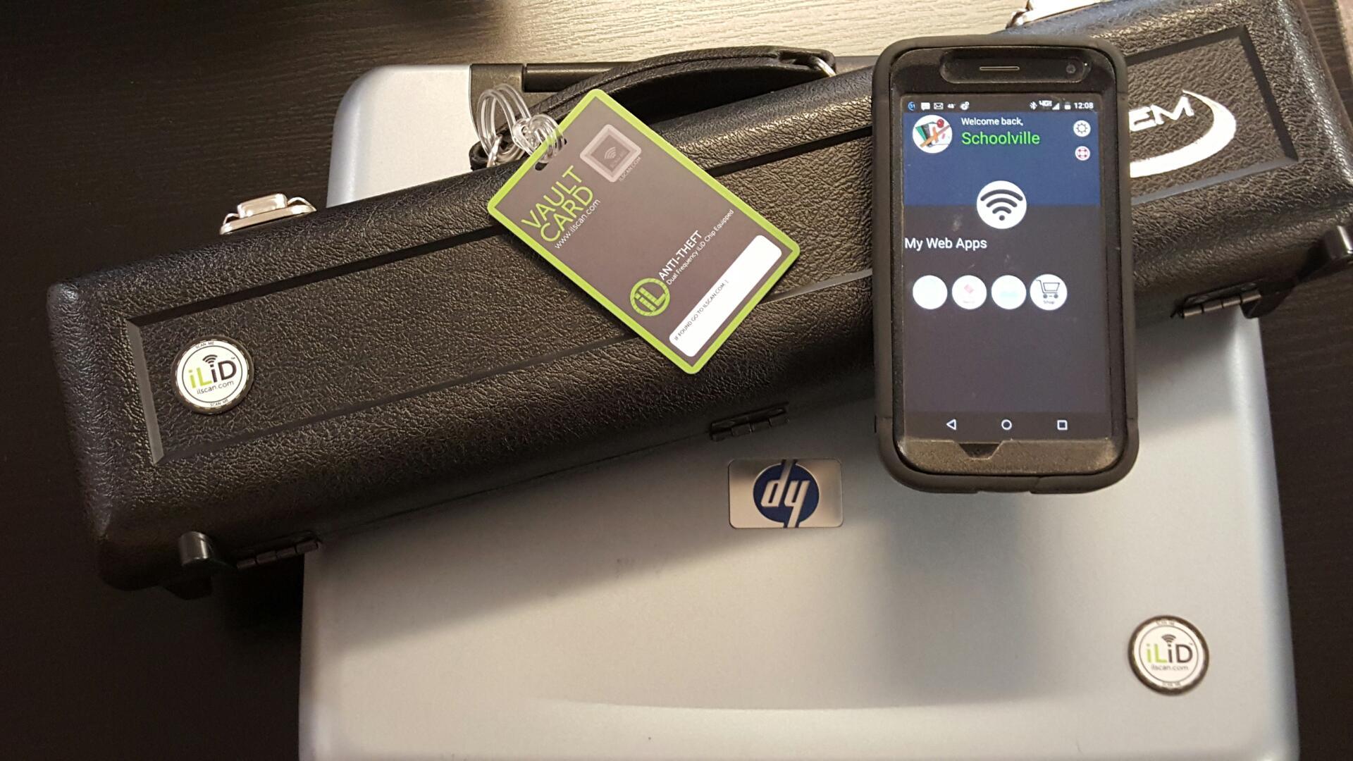 ilid tags on flute